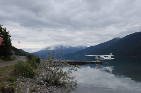 Northern Rockies Lodge (seaplane dock), Muncho Lake, British Columbia