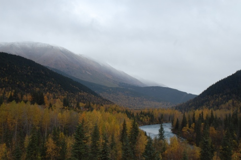 Autumn Along the Seward Highway