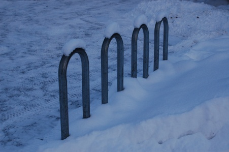 Bike Rack, Coastal Trail, Anchorage